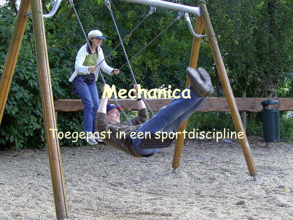 Toegepast in een sportdiscipline