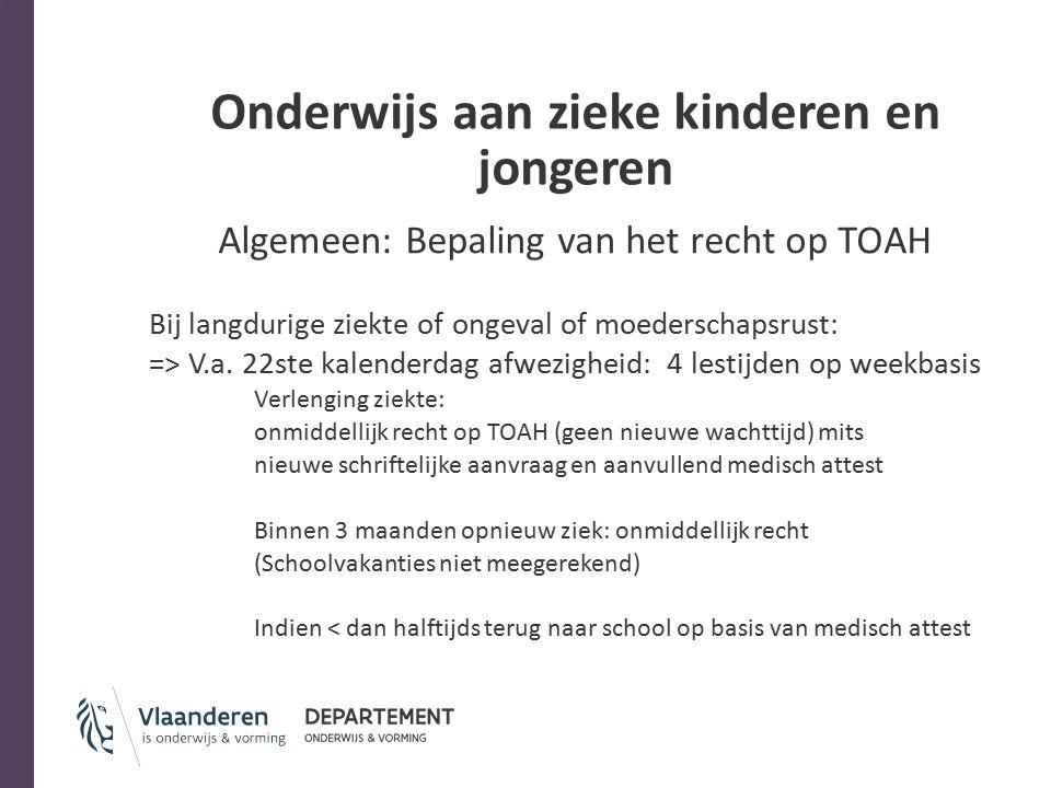 Onderwijs aan zieke kinderen en jongeren