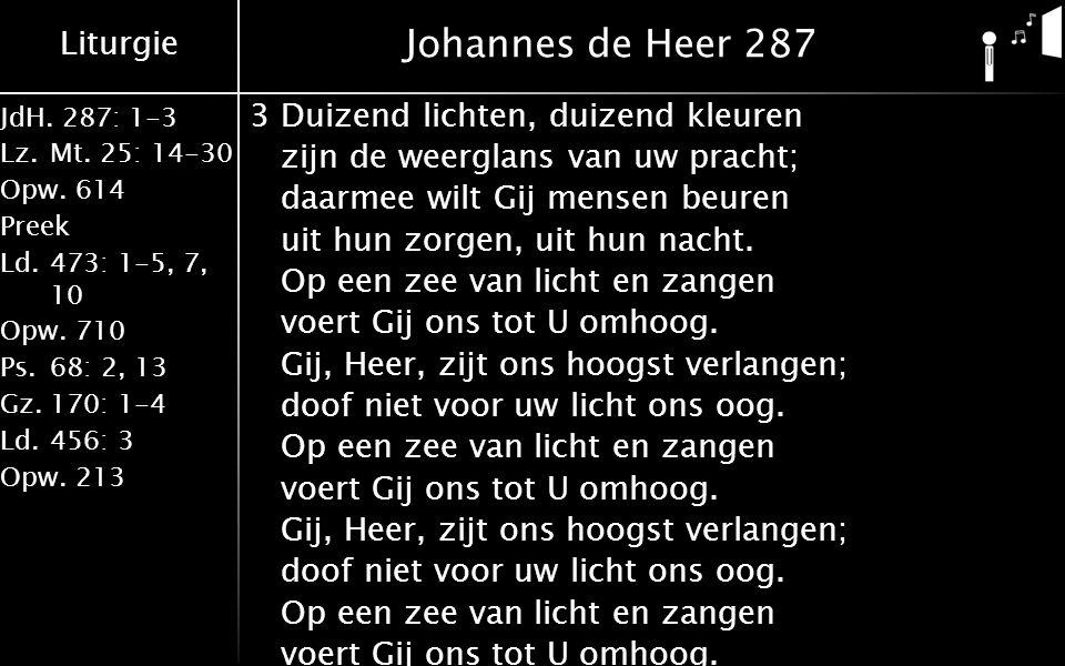 Johannes de Heer 287