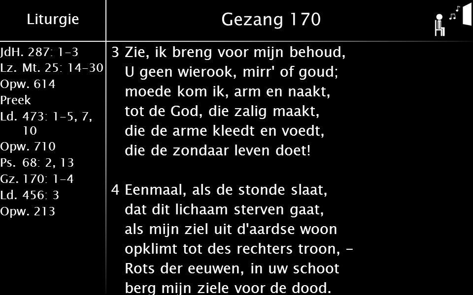 Gezang 170