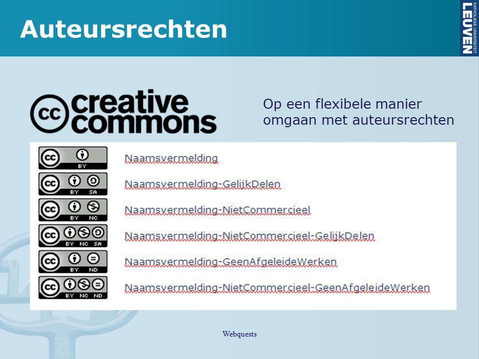 Auteursrechten Op een flexibele manier omgaan met auteursrechten