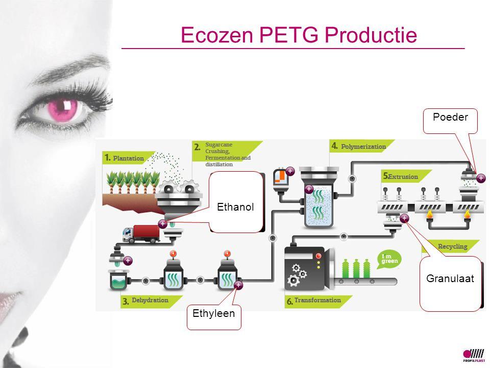 Ecozen PETG Productie Poeder Ethanol Granulaat Ethyleen