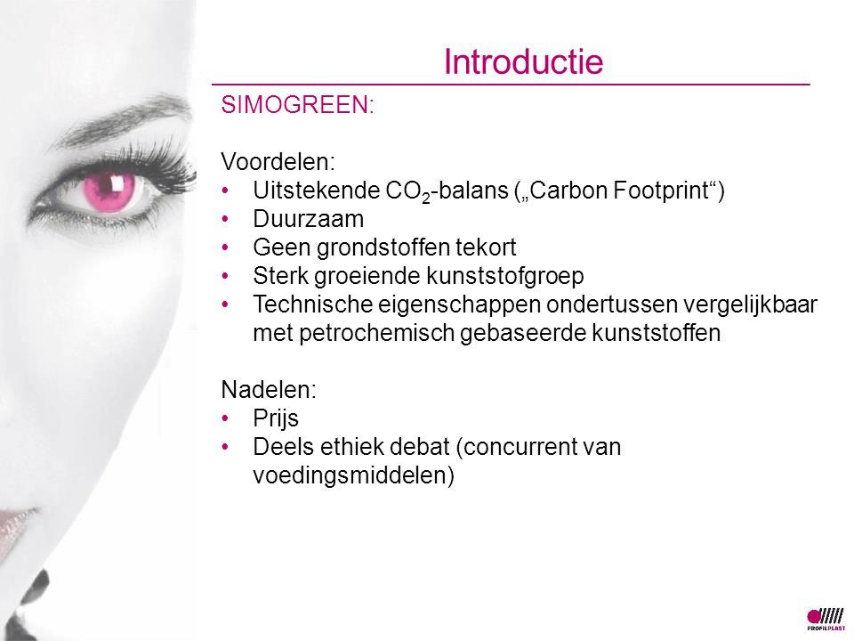 Introductie SIMOGREEN: Voordelen:
