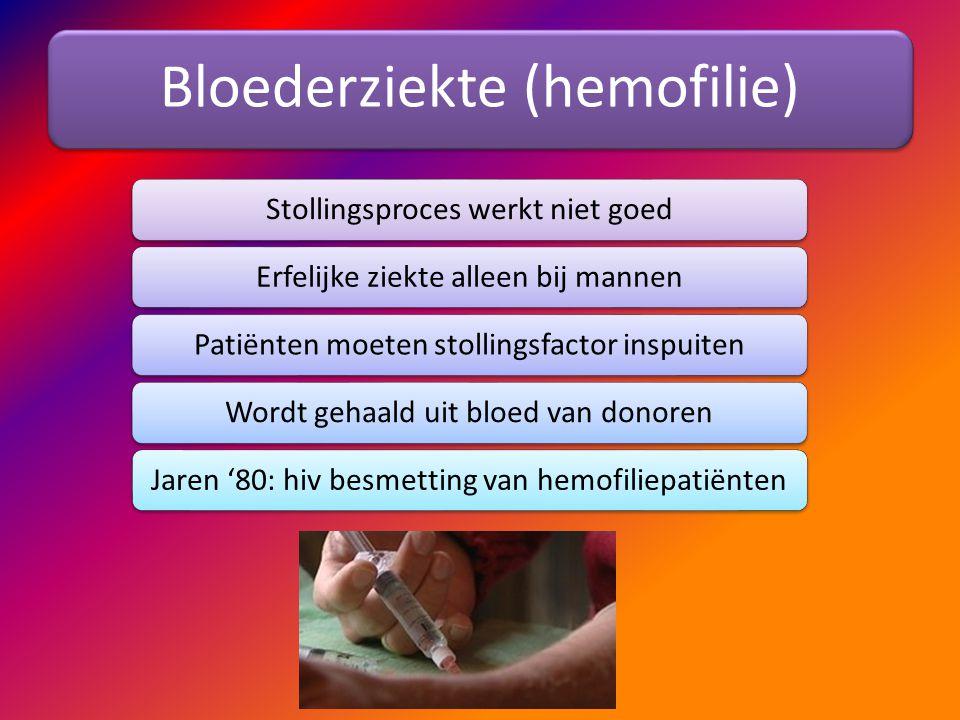 Bloederziekte (hemofilie)