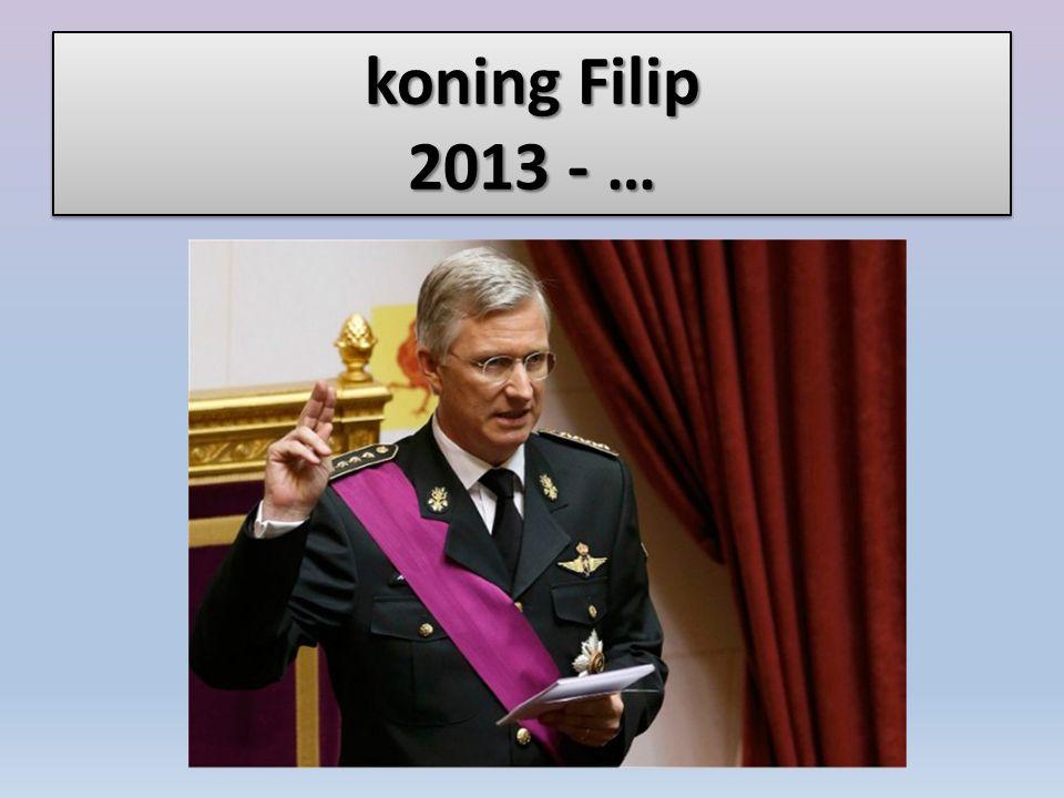 koning Filip 2013 - …