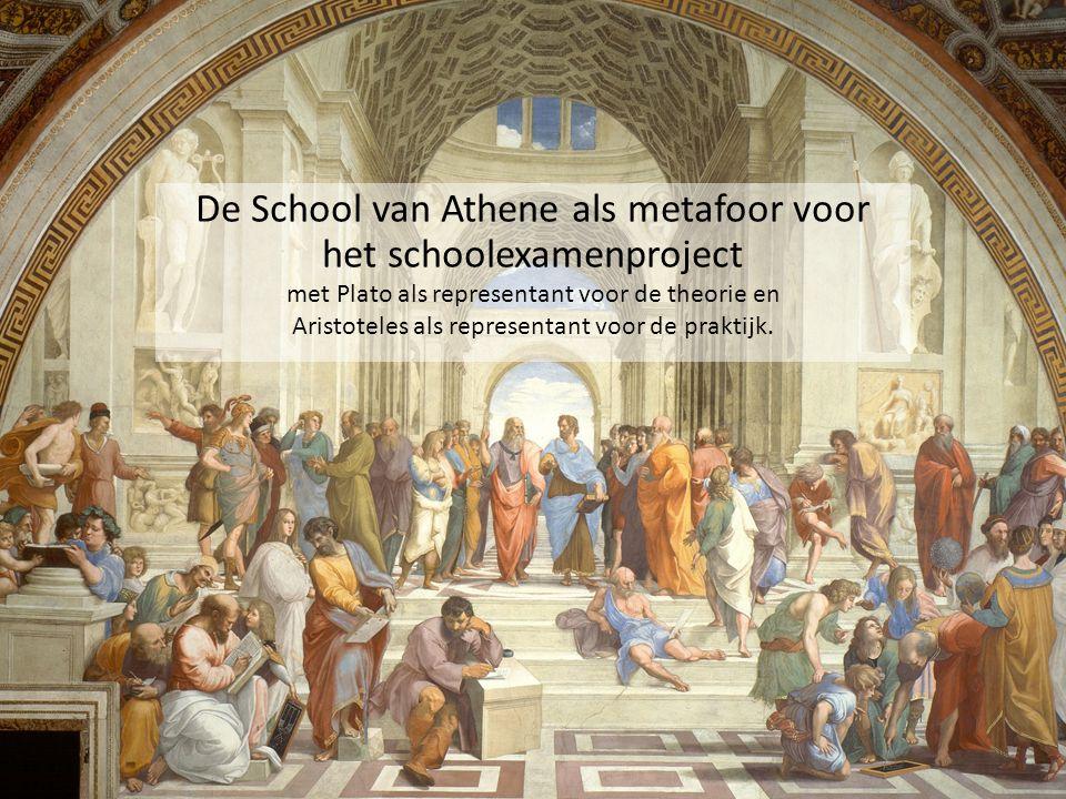 De School van Athene als metafoor voor het schoolexamenproject