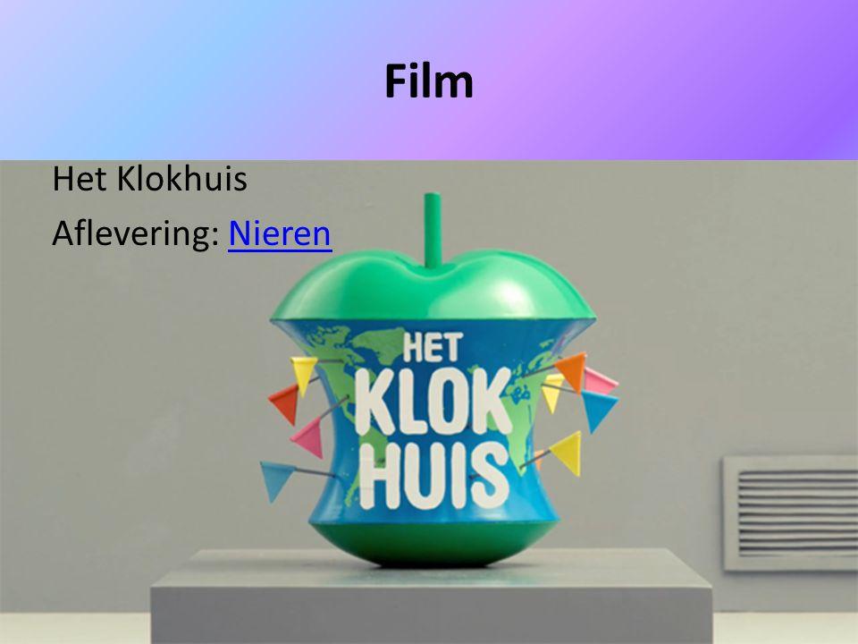 Film Het Klokhuis Aflevering: Nieren