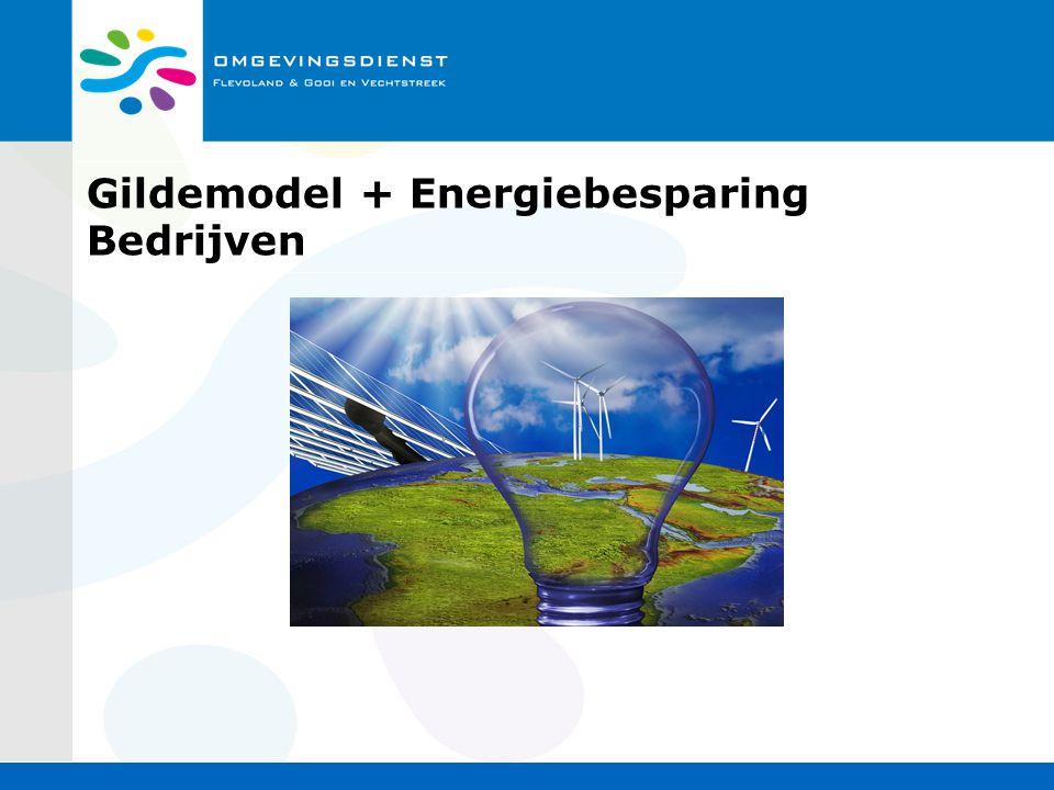 Gildemodel + Energiebesparing