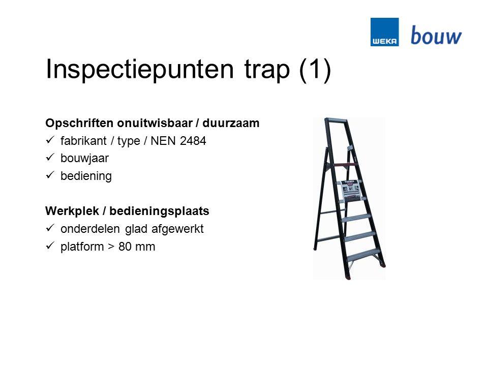 Inspectiepunten trap (1)