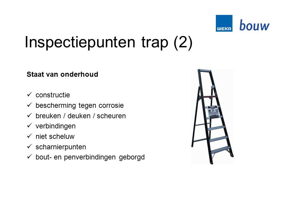 Inspectiepunten trap (2)