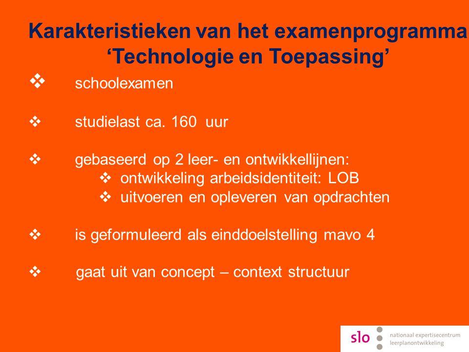 'Technologie en Toepassing'