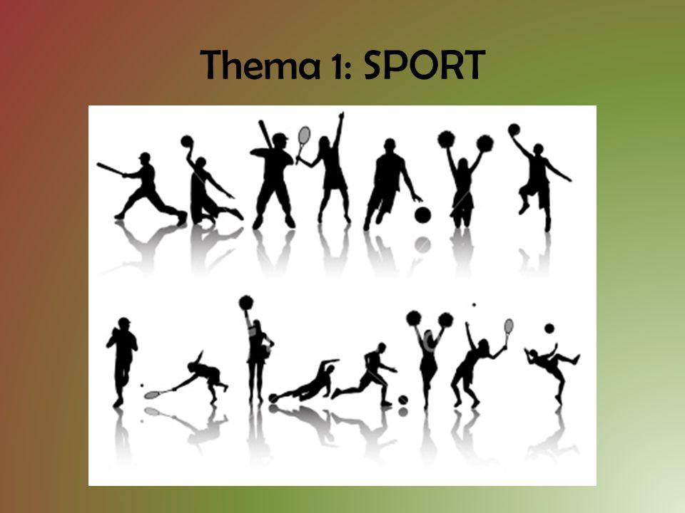 Thema 1: SPORT