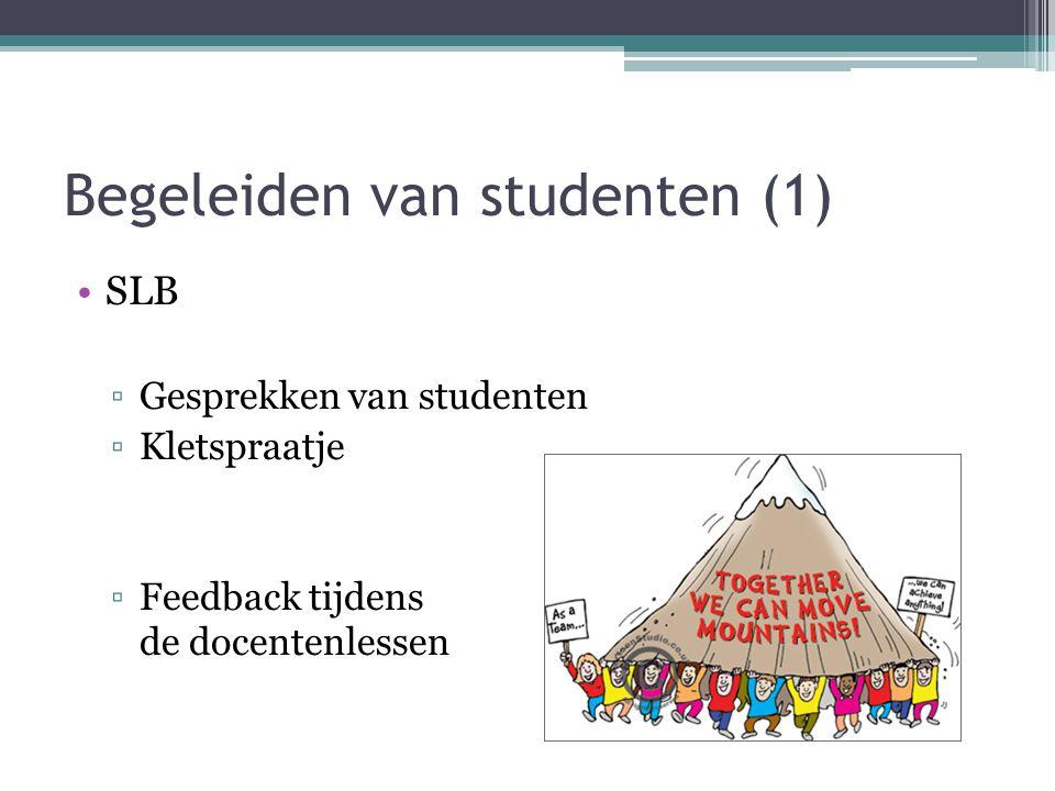 Begeleiden van studenten (1)