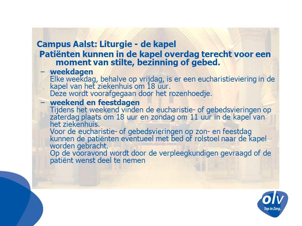 Campus Aalst: Liturgie - de kapel