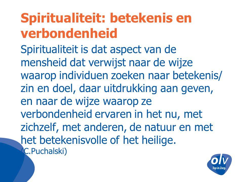 Spiritualiteit: betekenis en verbondenheid
