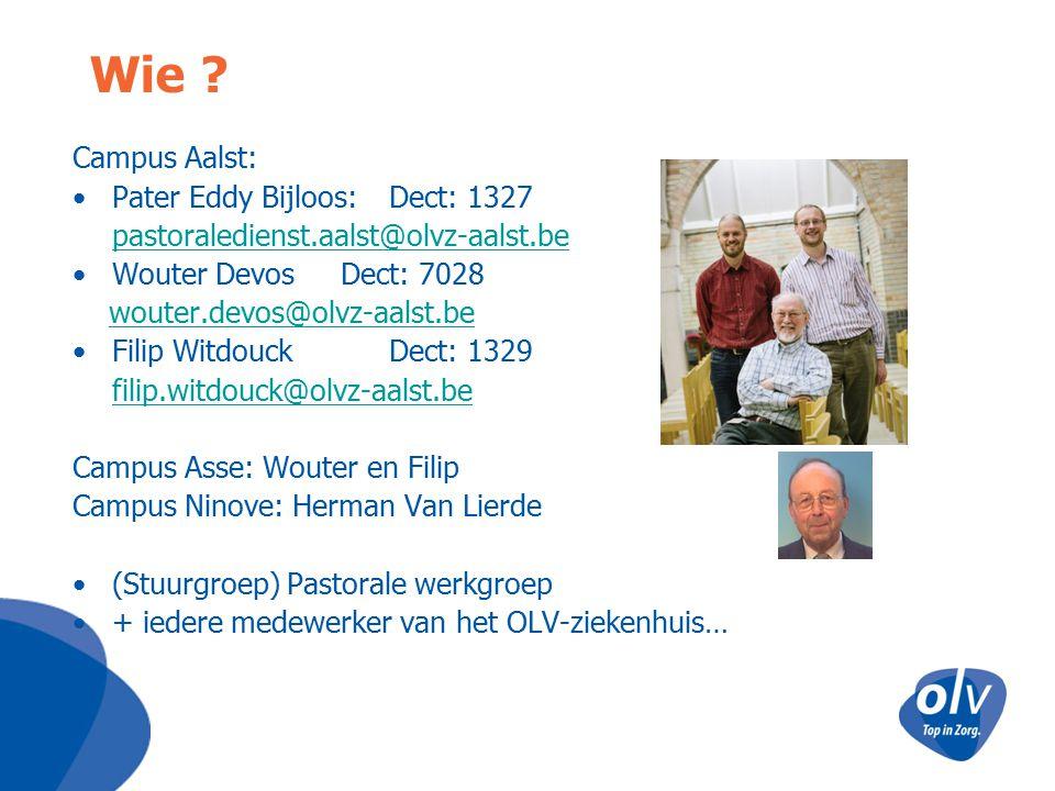 Wie Campus Aalst: Pater Eddy Bijloos: Dect: 1327