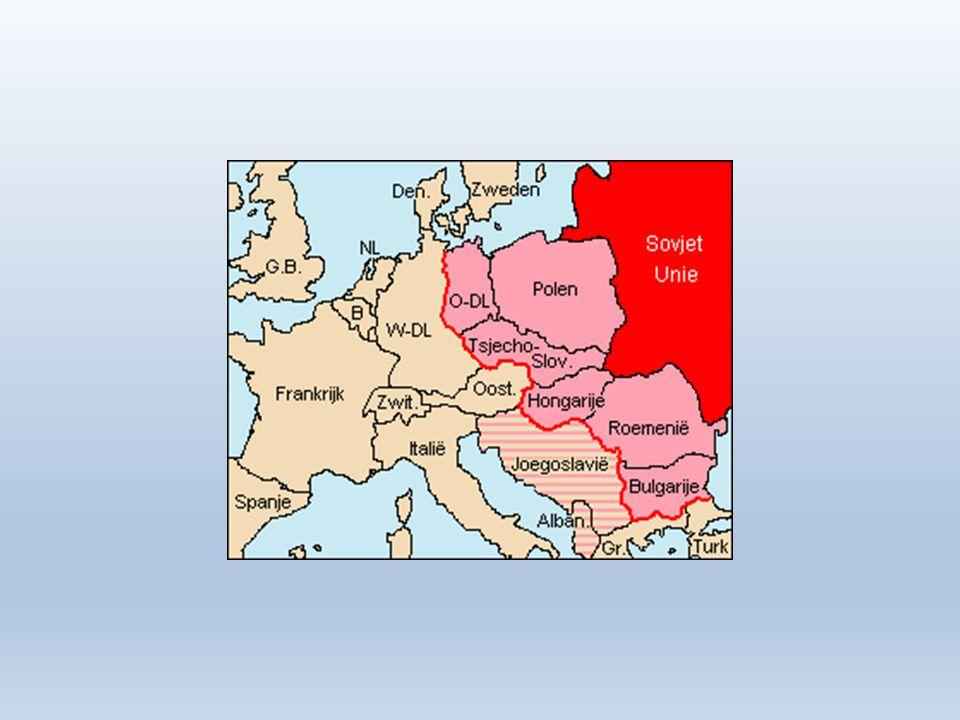 Door Duitsland liep de grens tussen het kapitalisme en het communisme