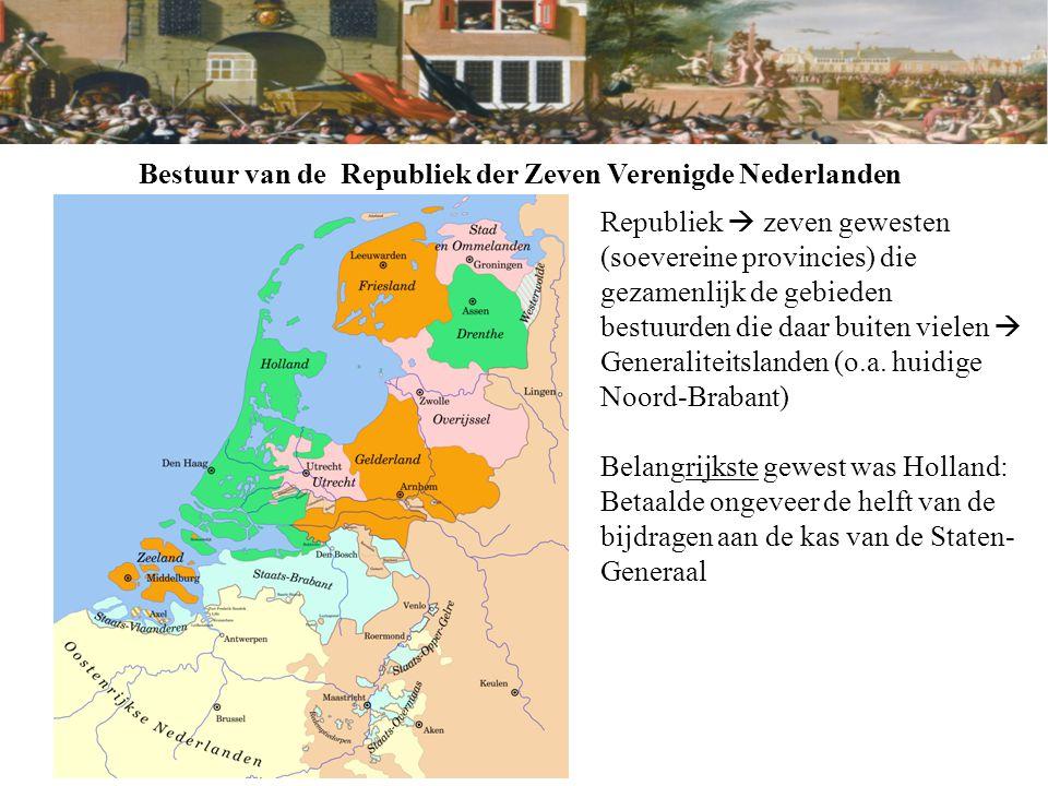 Bestuur van de Republiek der Zeven Verenigde Nederlanden