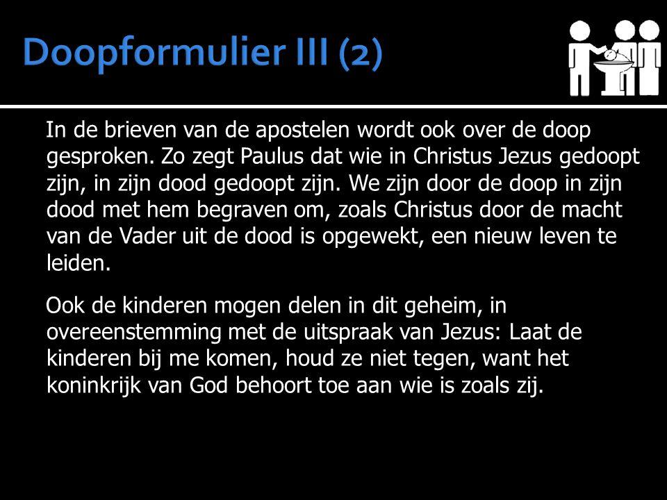 Doopformulier III (2)