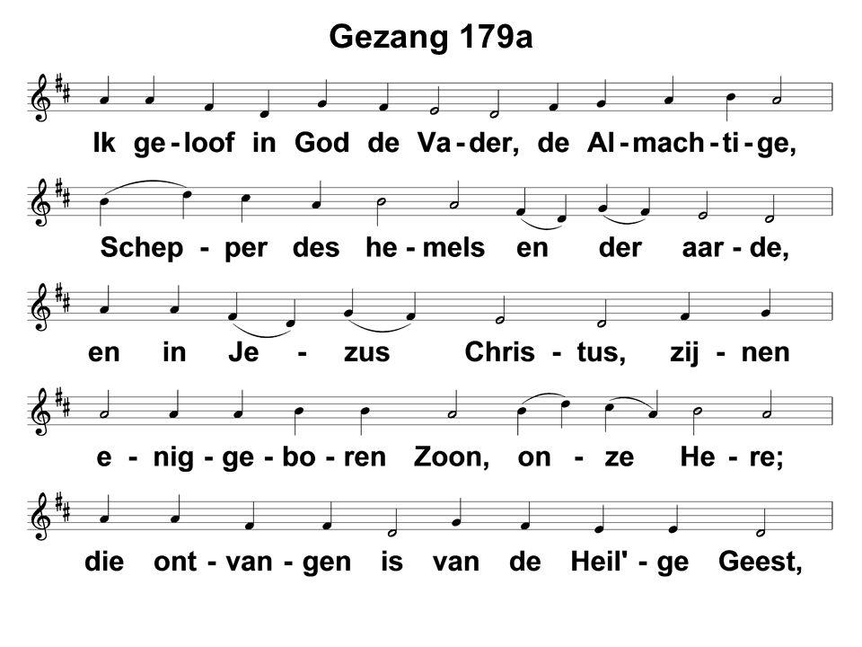 Gezang 179a
