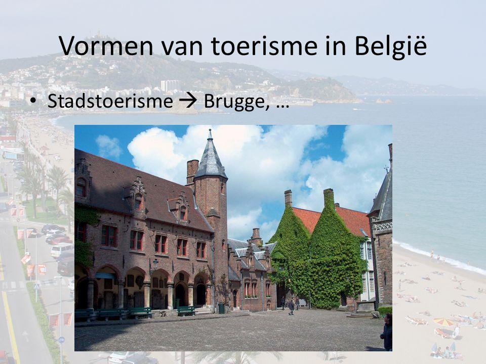 Vormen van toerisme in België
