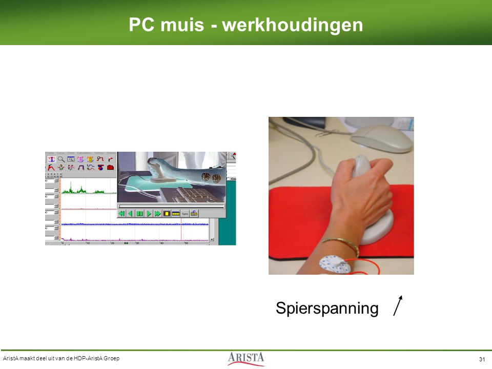 PC muis - werkhoudingen