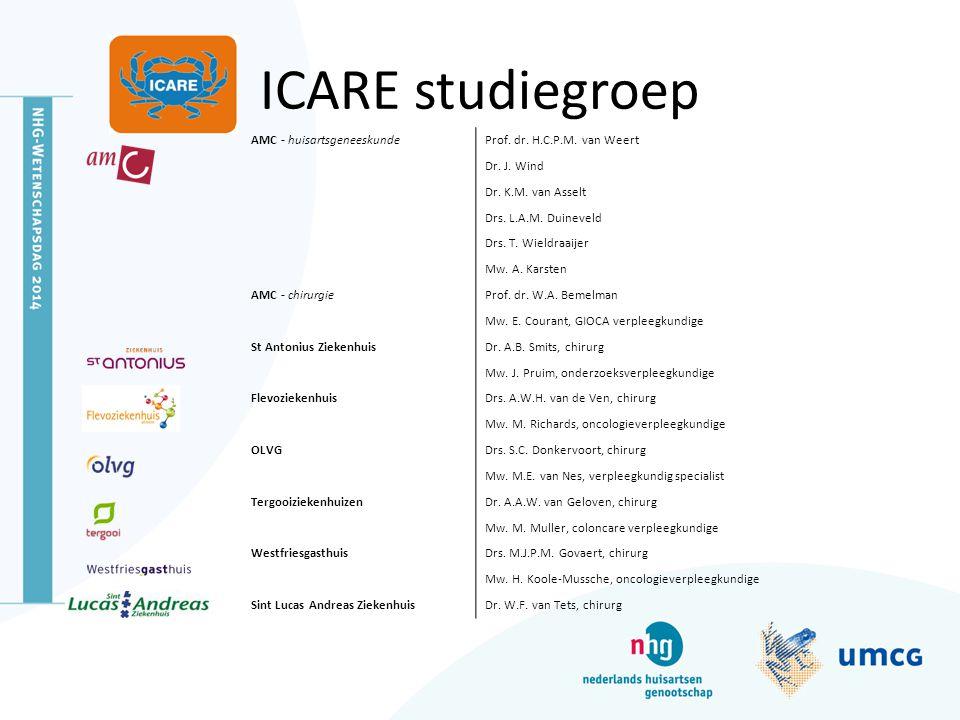 ICARE studiegroep AMC - huisartsgeneeskunde