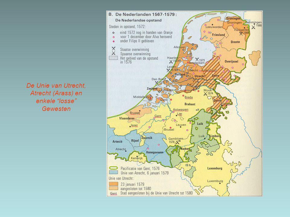 De Unie van Utrecht, Atrecht (Arass) en enkele losse Gewesten