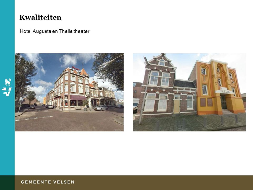 Kwaliteiten Hotel Augusta en Thalia theater