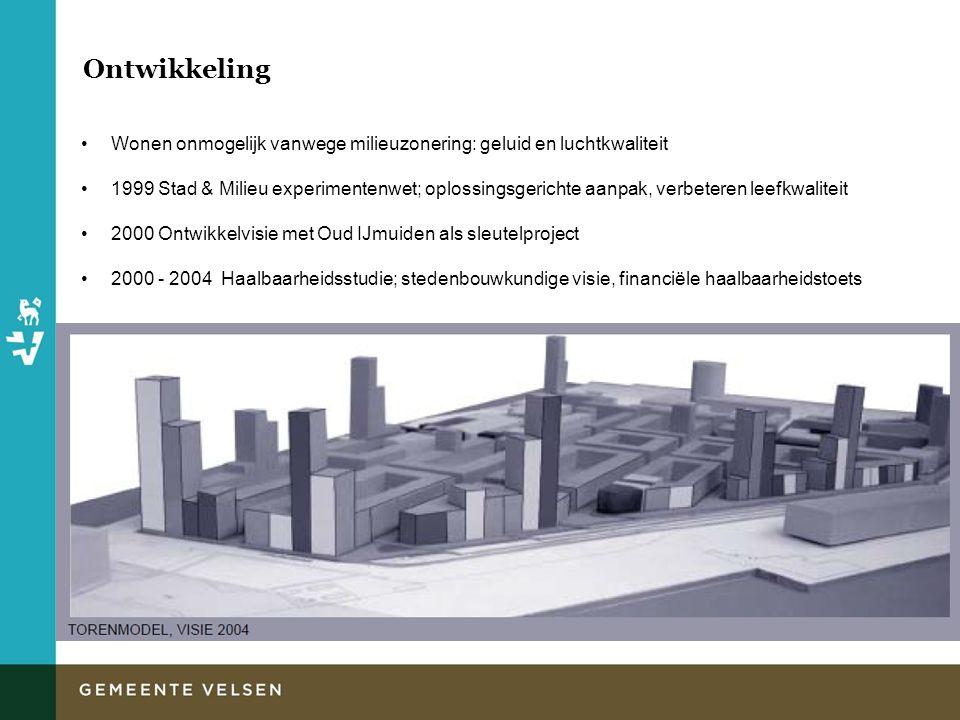 Ontwikkeling Wonen onmogelijk vanwege milieuzonering: geluid en luchtkwaliteit.