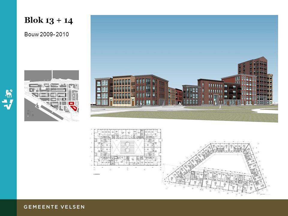 Blok 13 + 14 Bouw 2009- 2010