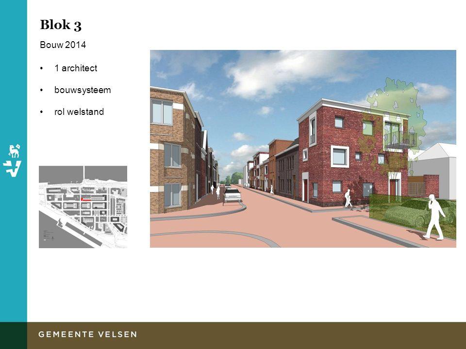 Blok 3 Bouw 2014 1 architect bouwsysteem rol welstand