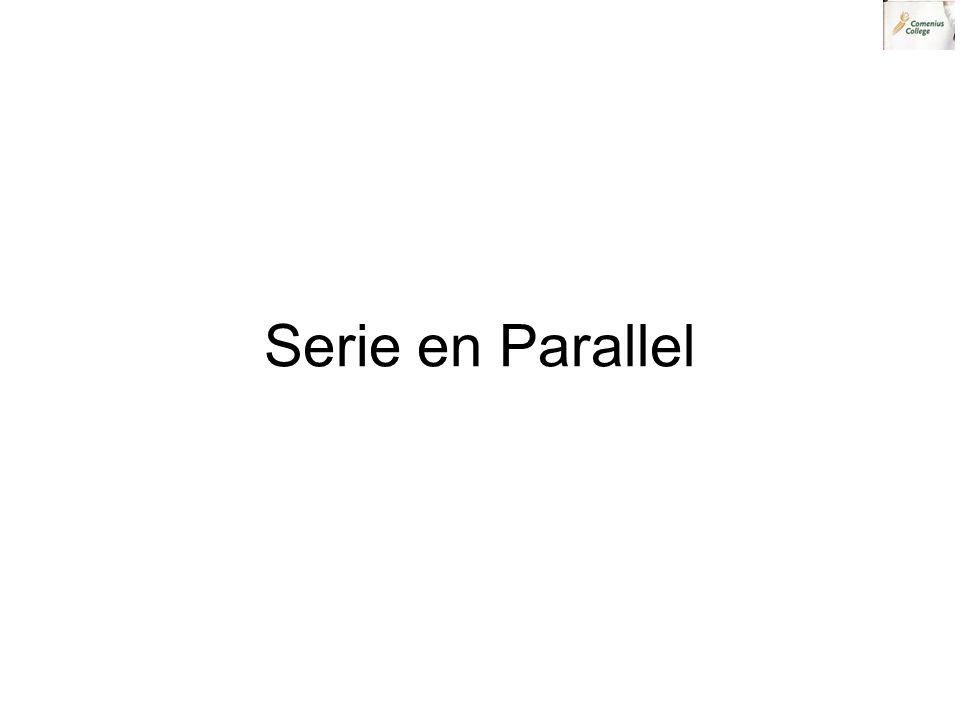 Serie en Parallel