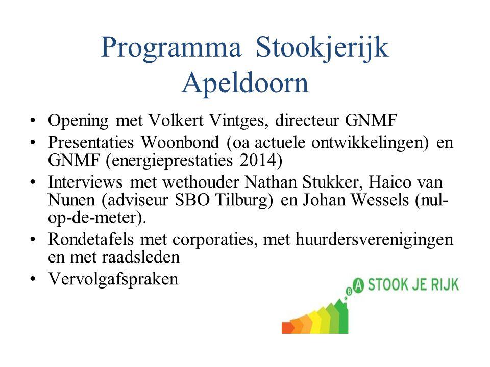 Programma Stookjerijk Apeldoorn