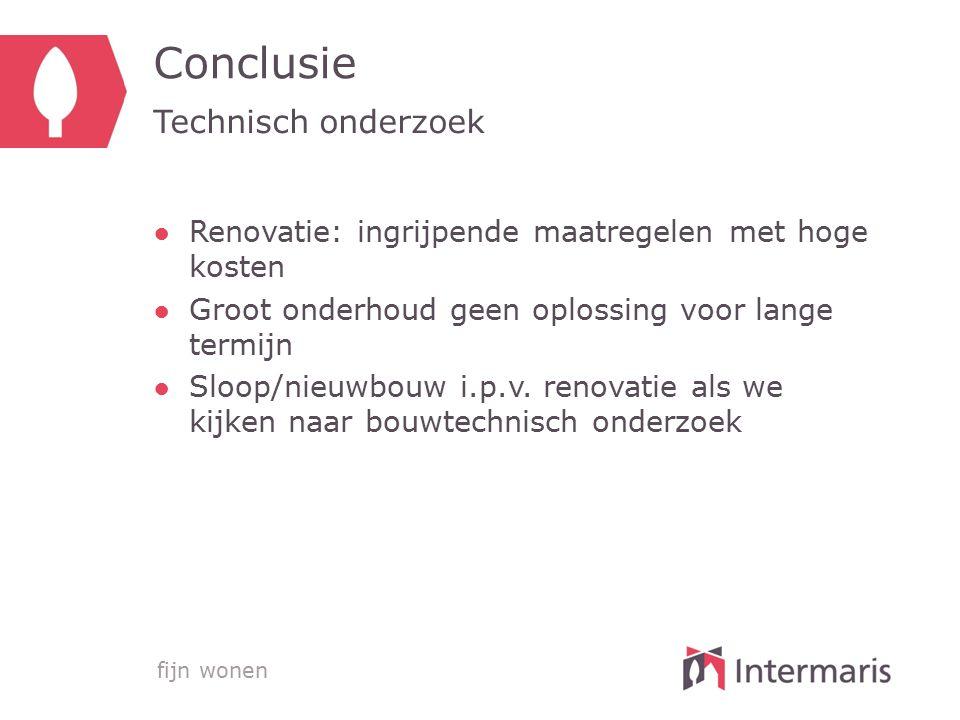 Conclusie Technisch onderzoek