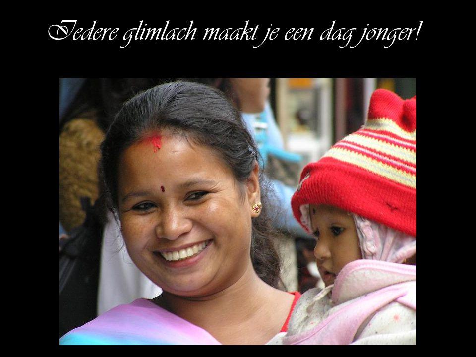 Iedere glimlach maakt je een dag jonger!