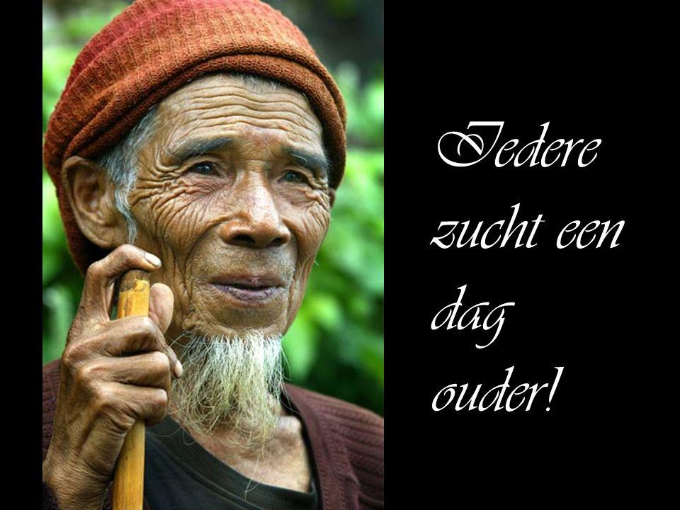 Iedere zucht een dag ouder!