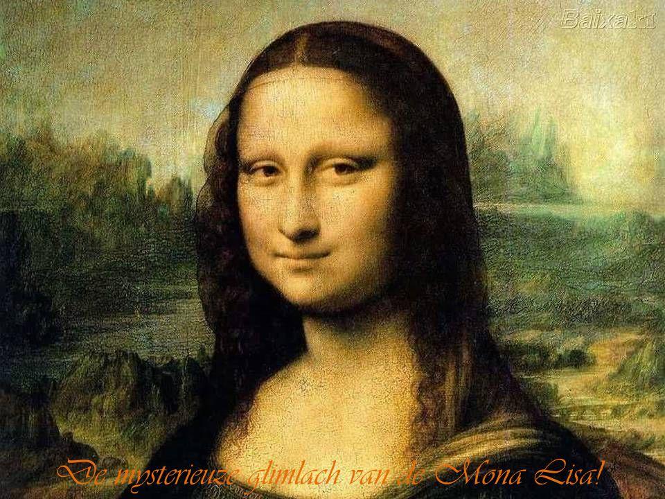 De mysterieuze glimlach van de Mona Lisa!