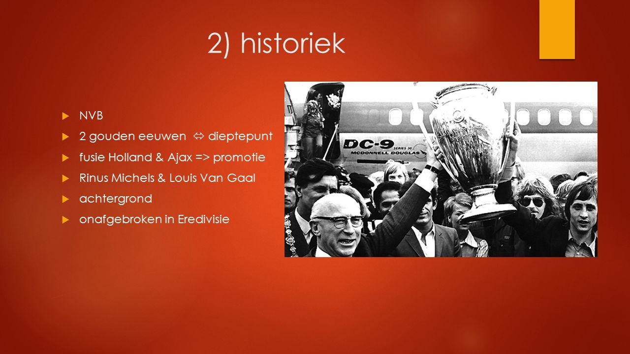 2) historiek NVB 2 gouden eeuwen  dieptepunt