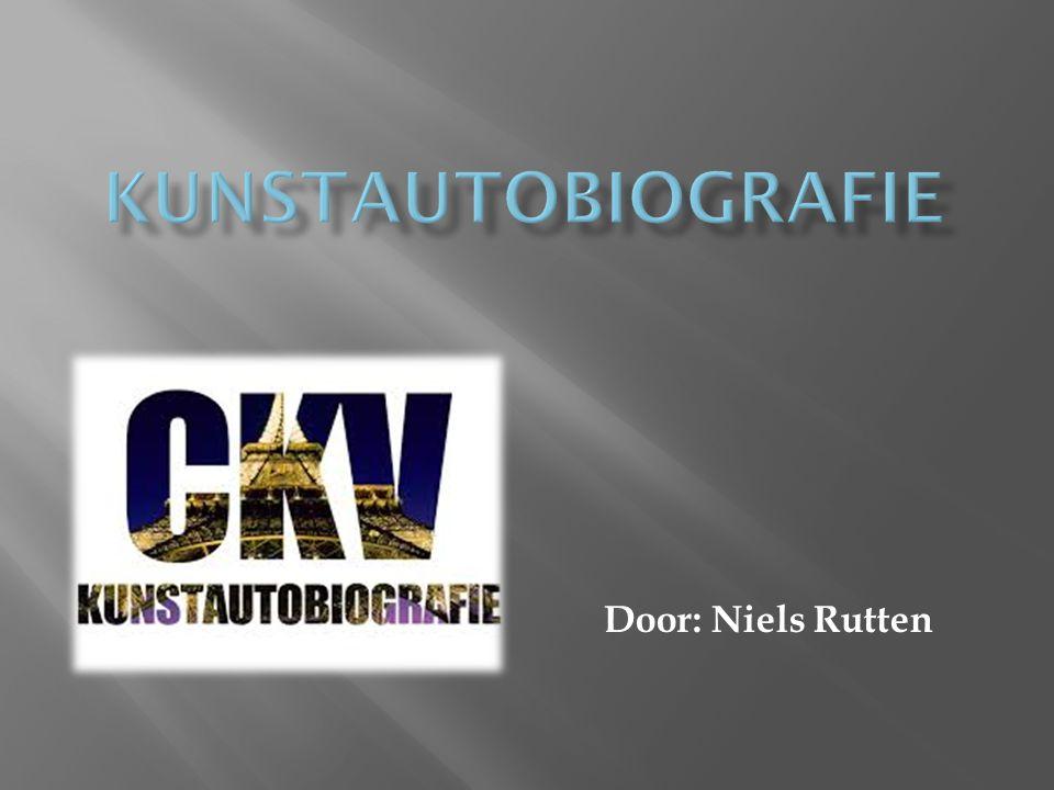 kunstautobiografie Door: Niels Rutten