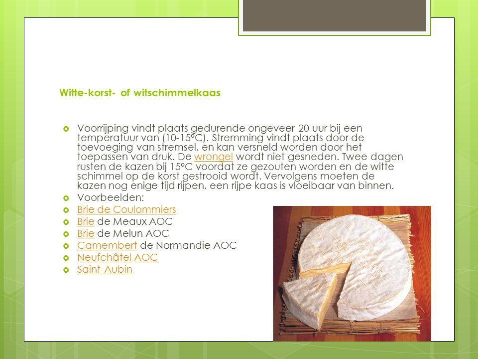 Witte-korst- of witschimmelkaas