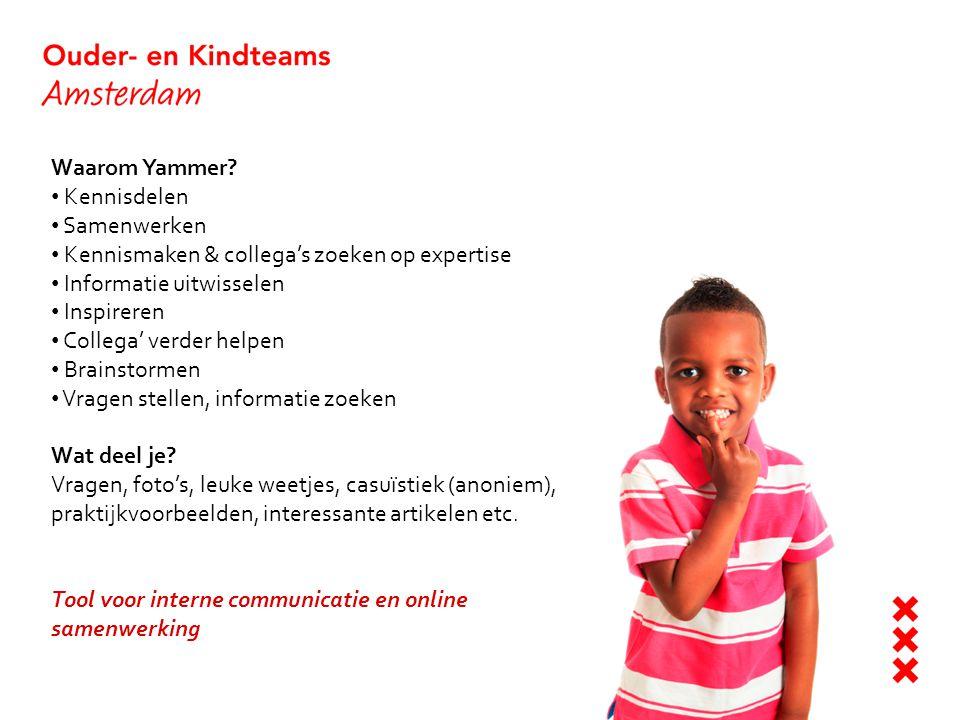 Waarom Yammer Kennisdelen. Samenwerken. Kennismaken & collega's zoeken op expertise. Informatie uitwisselen.