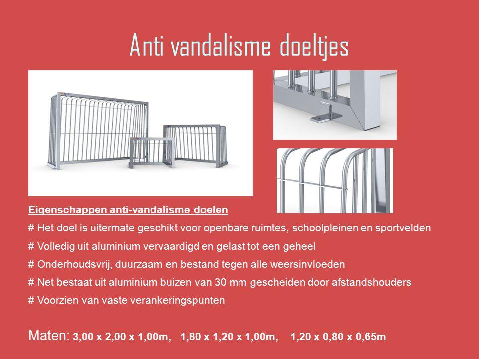 Anti vandalisme doeltjes