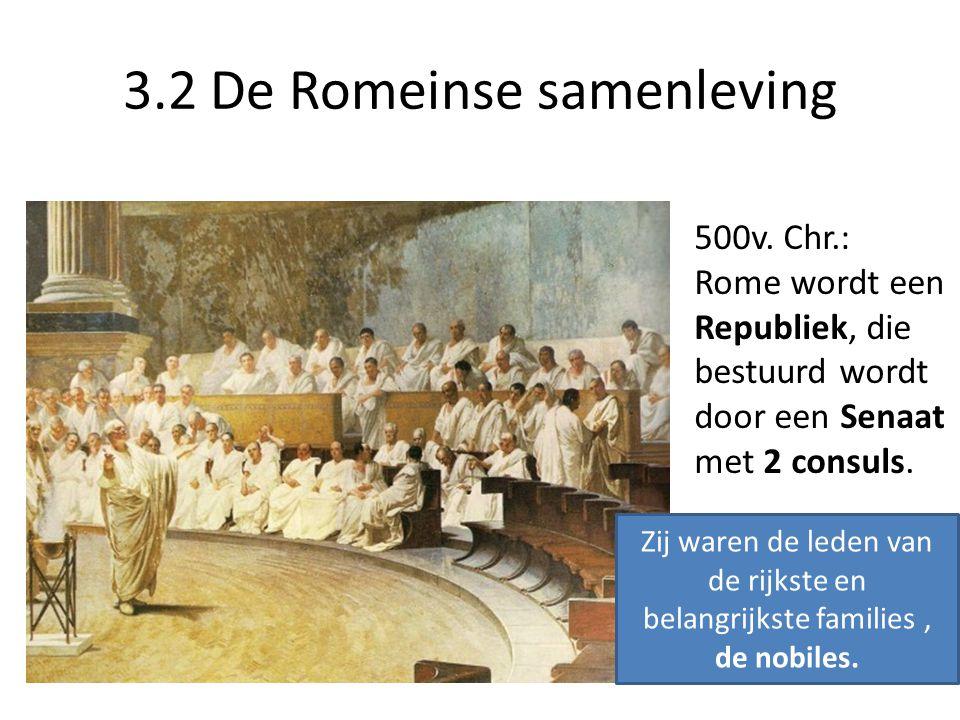 3.2 De Romeinse samenleving