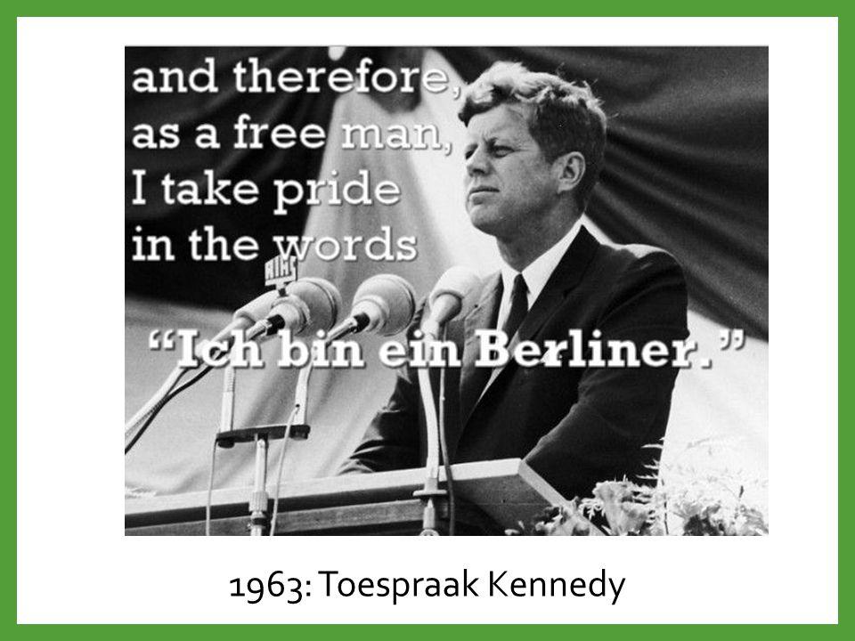 1963: Toespraak Kennedy