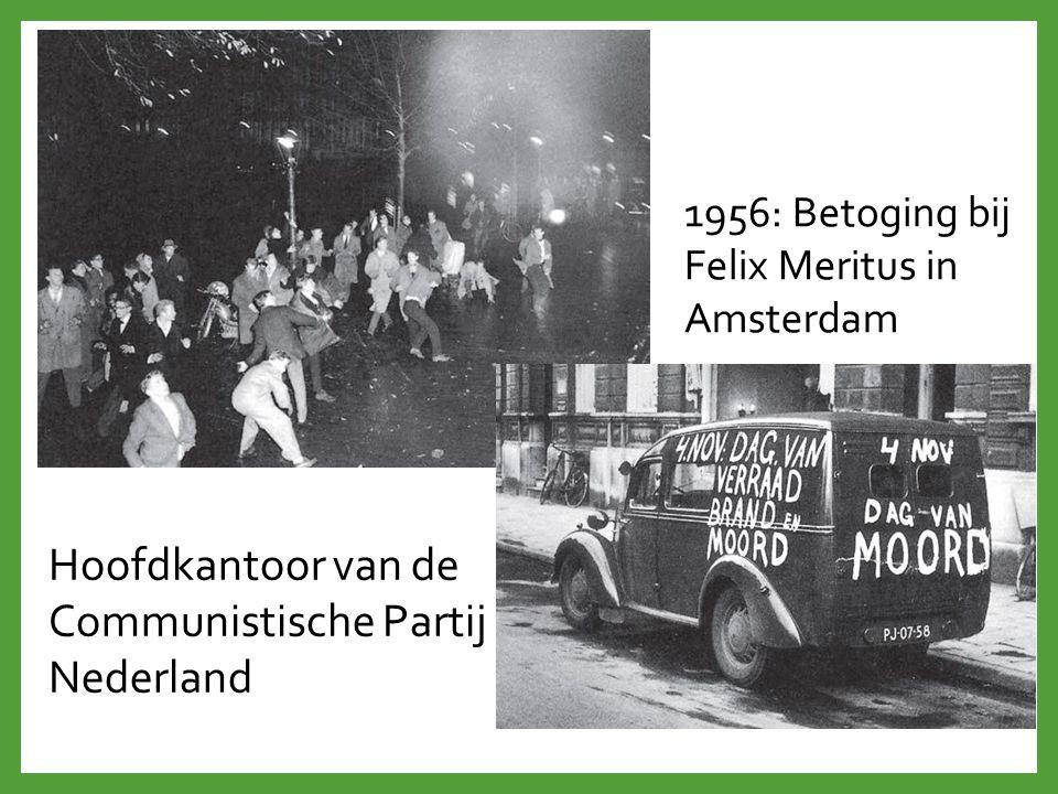 Hoofdkantoor van de Communistische Partij Nederland