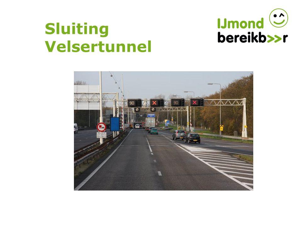 Sluiting Velsertunnel