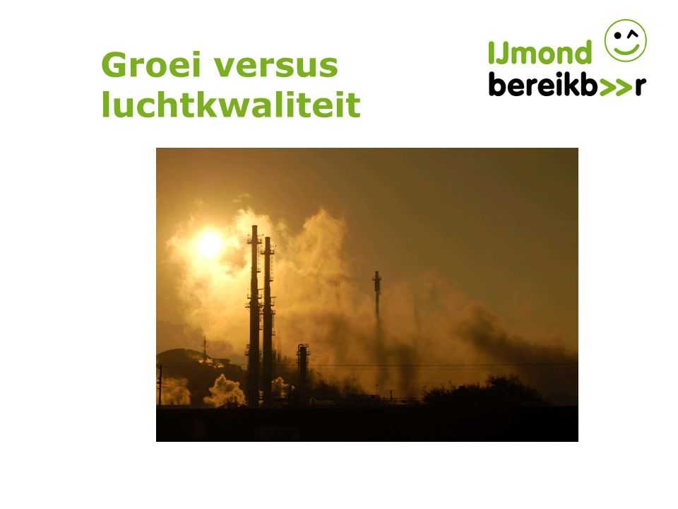 Groei versus luchtkwaliteit