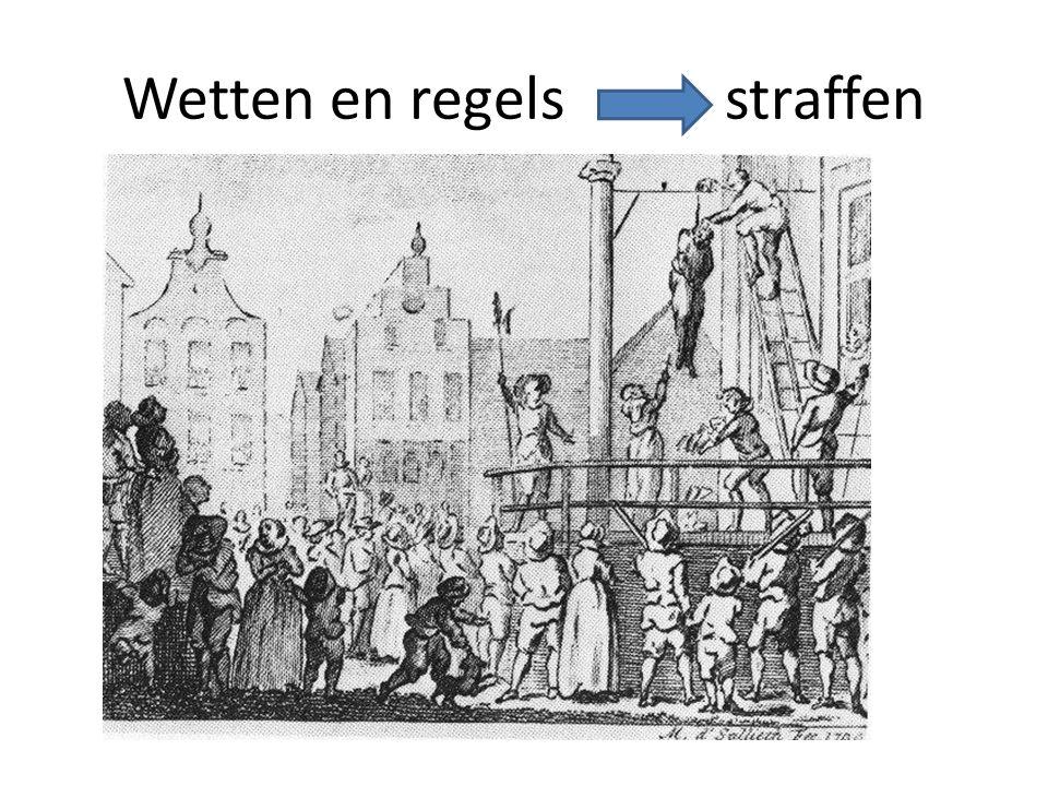 Wetten en regels straffen