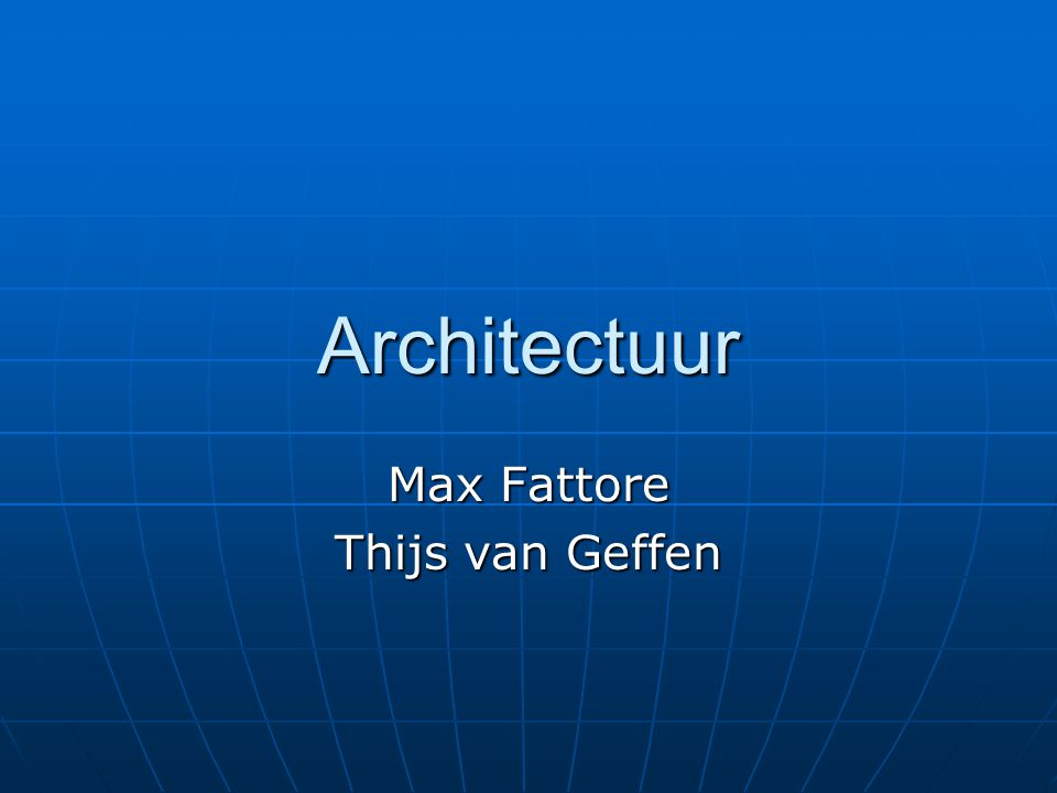 Max Fattore Thijs van Geffen